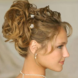 Prom and Bridal hair styling appointments Parma Heights